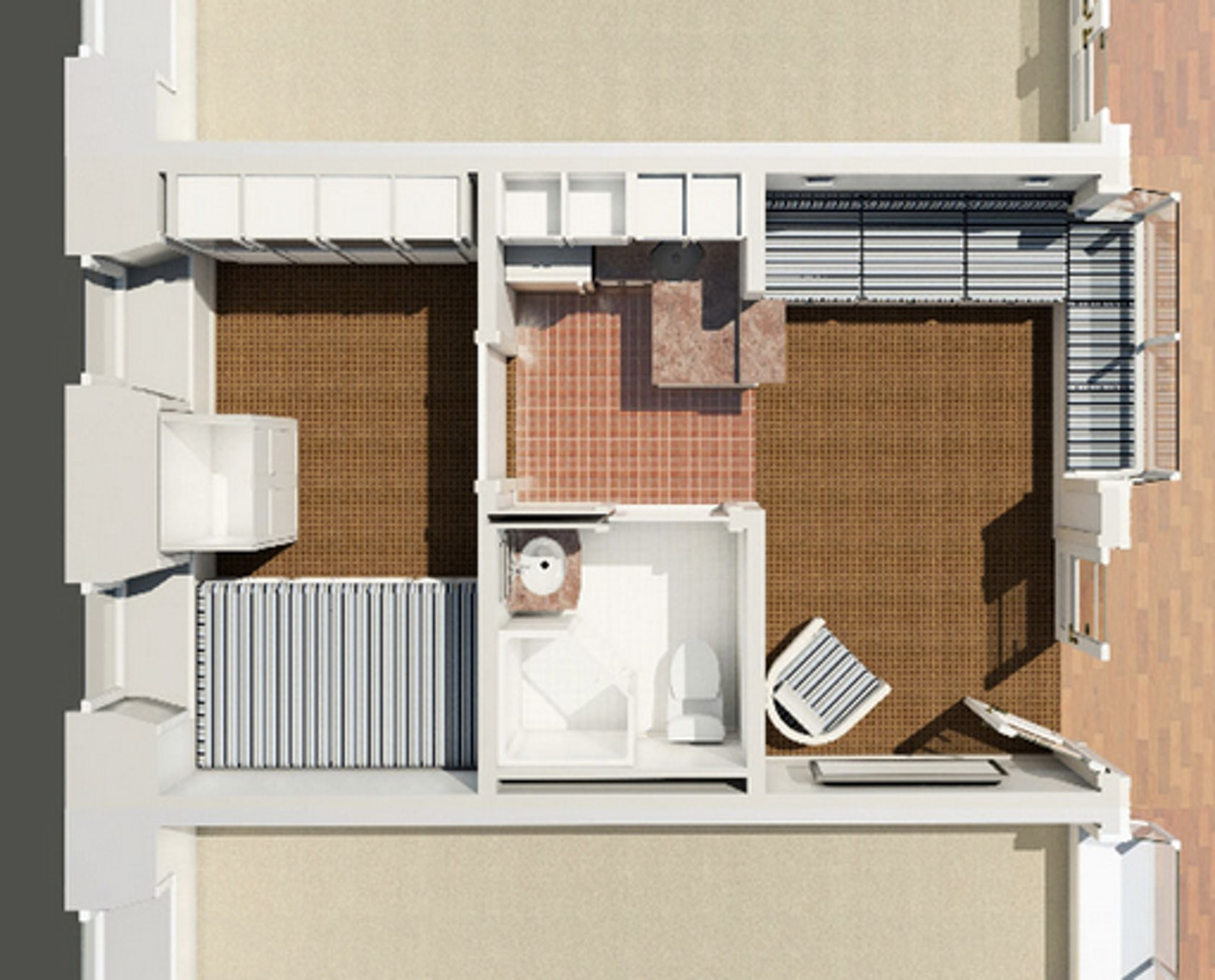 The new mini mall tiny apartments to open in nation 39 s 250 square foot apartment floor plan