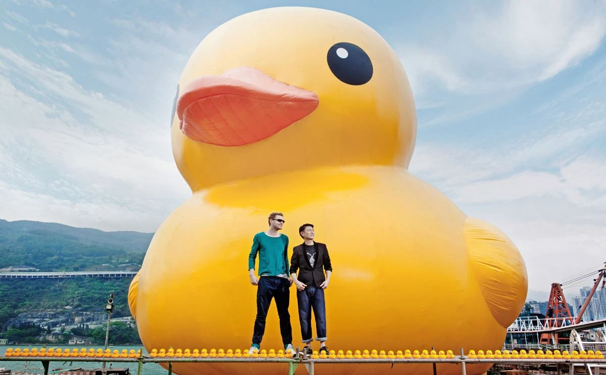 what the duck is going on hong kong architizer