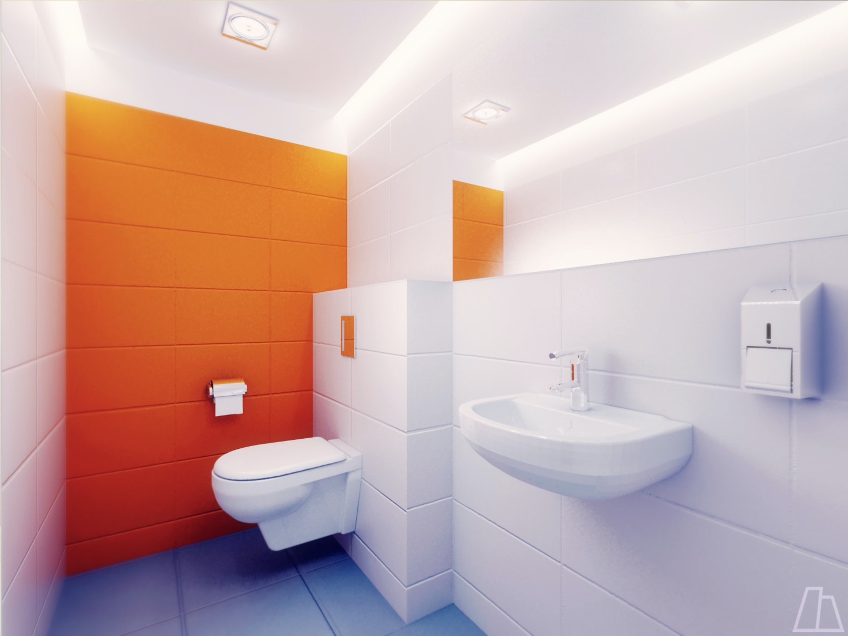 Public toilet interior design architizer for Bathroom and toilet interior design