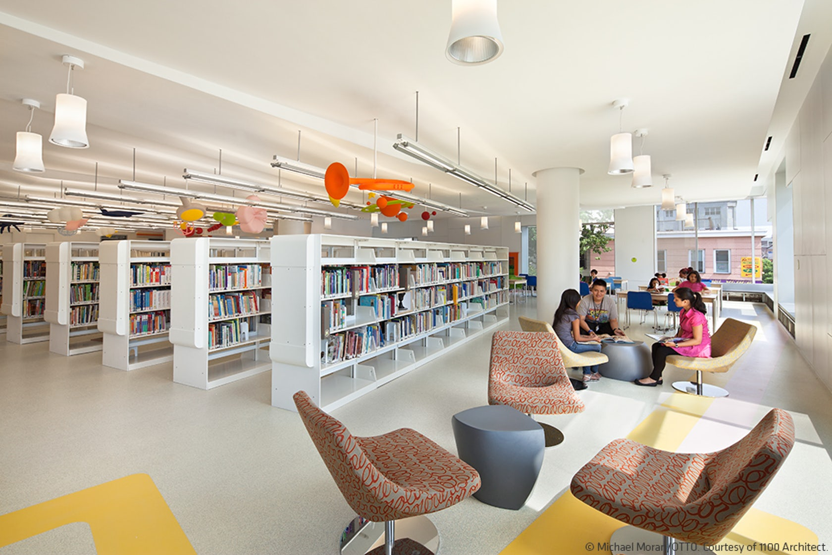 Queens Central Library, Children's Library Discovery Center on Architizer