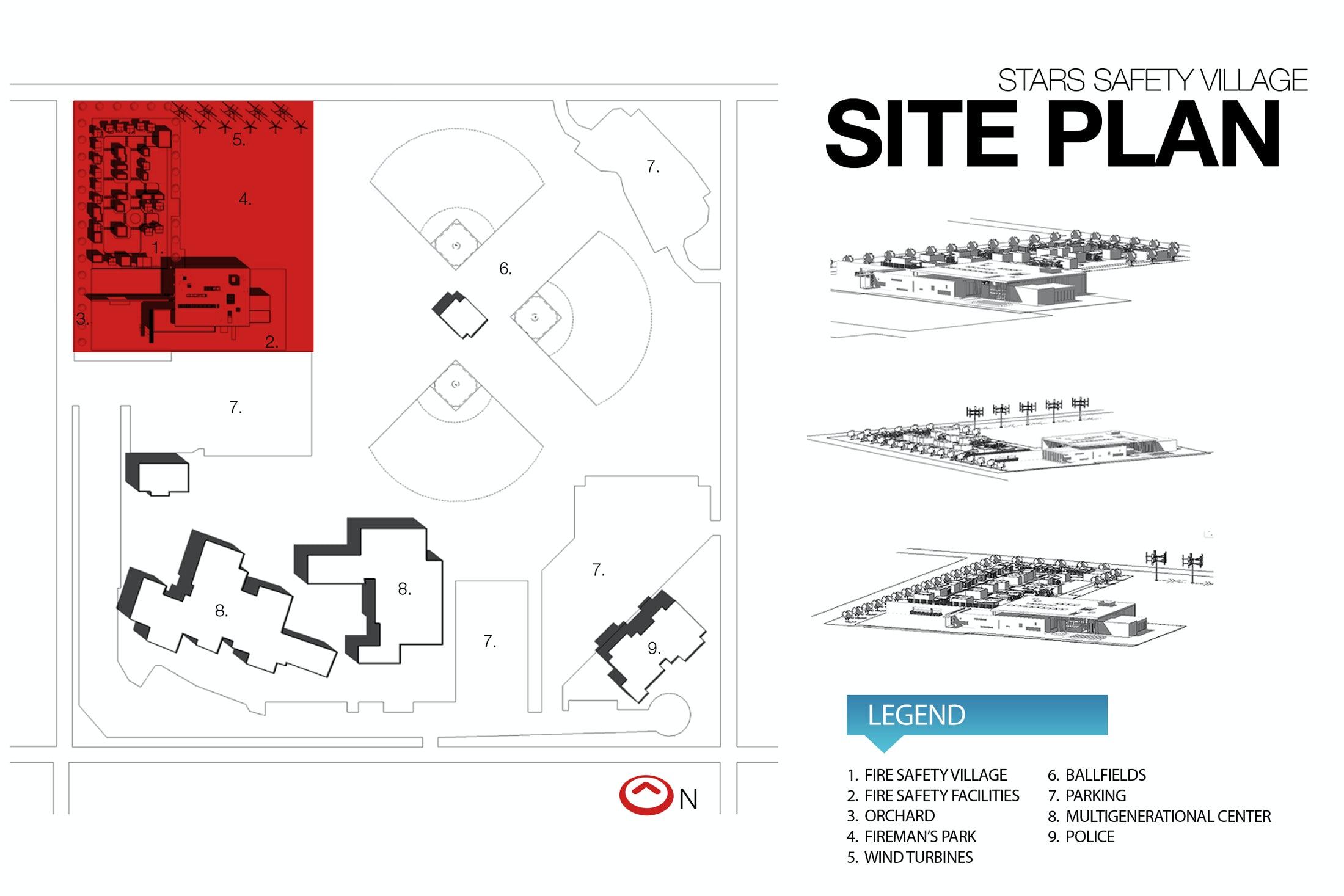 site plan q Fréjus