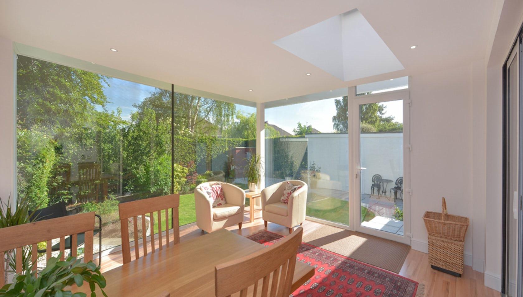 Contemporary garden room architizer for Garden rooms york