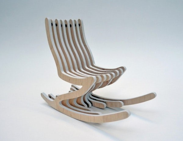 Best Rocking Chair Américain Contemporary Transformatorio
