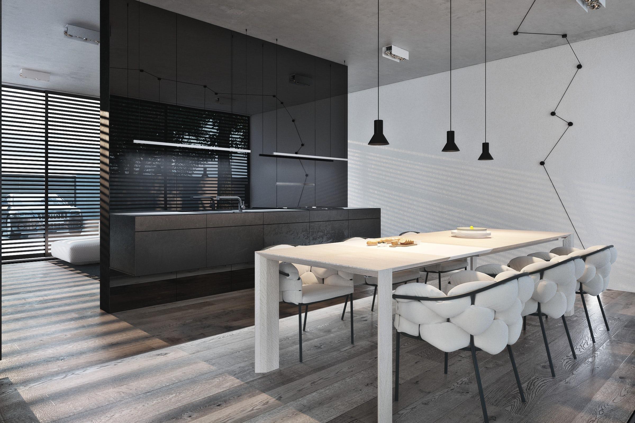 Igor Sirotov Architects Architizer ~ Quarto Casal Luminaria Pendente