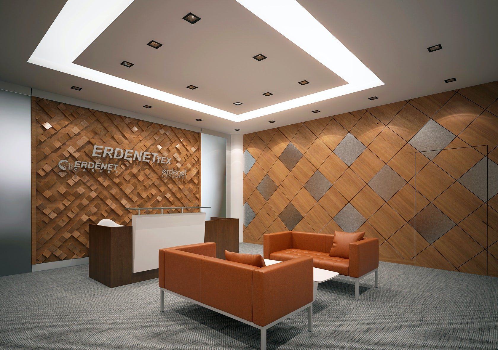 Erdenet carpet office interior design architizer for Office design instagram