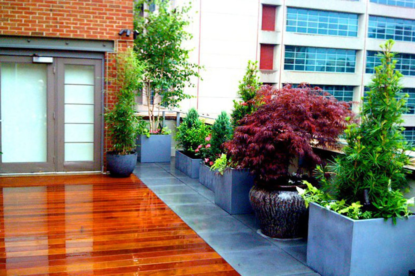 Nyc roof deck design tribeca terrace architizer for Terrace new york