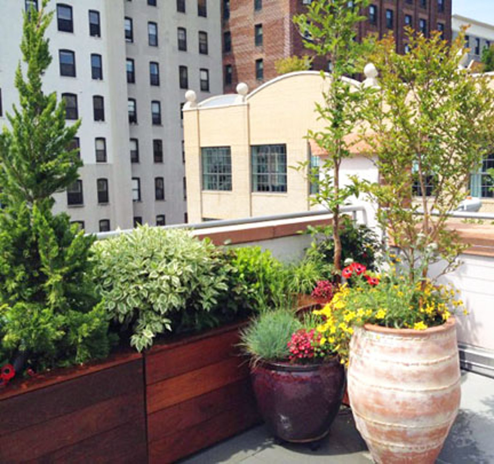 Nyc backyard patio and roof garden design brooklyn for Garden design instagram