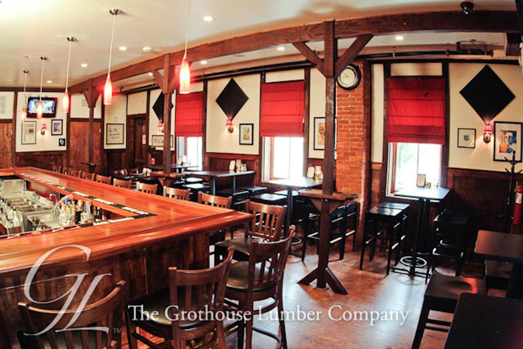 Mahogany Wood Bar Top In Yardley Pennsylvania Architizer
