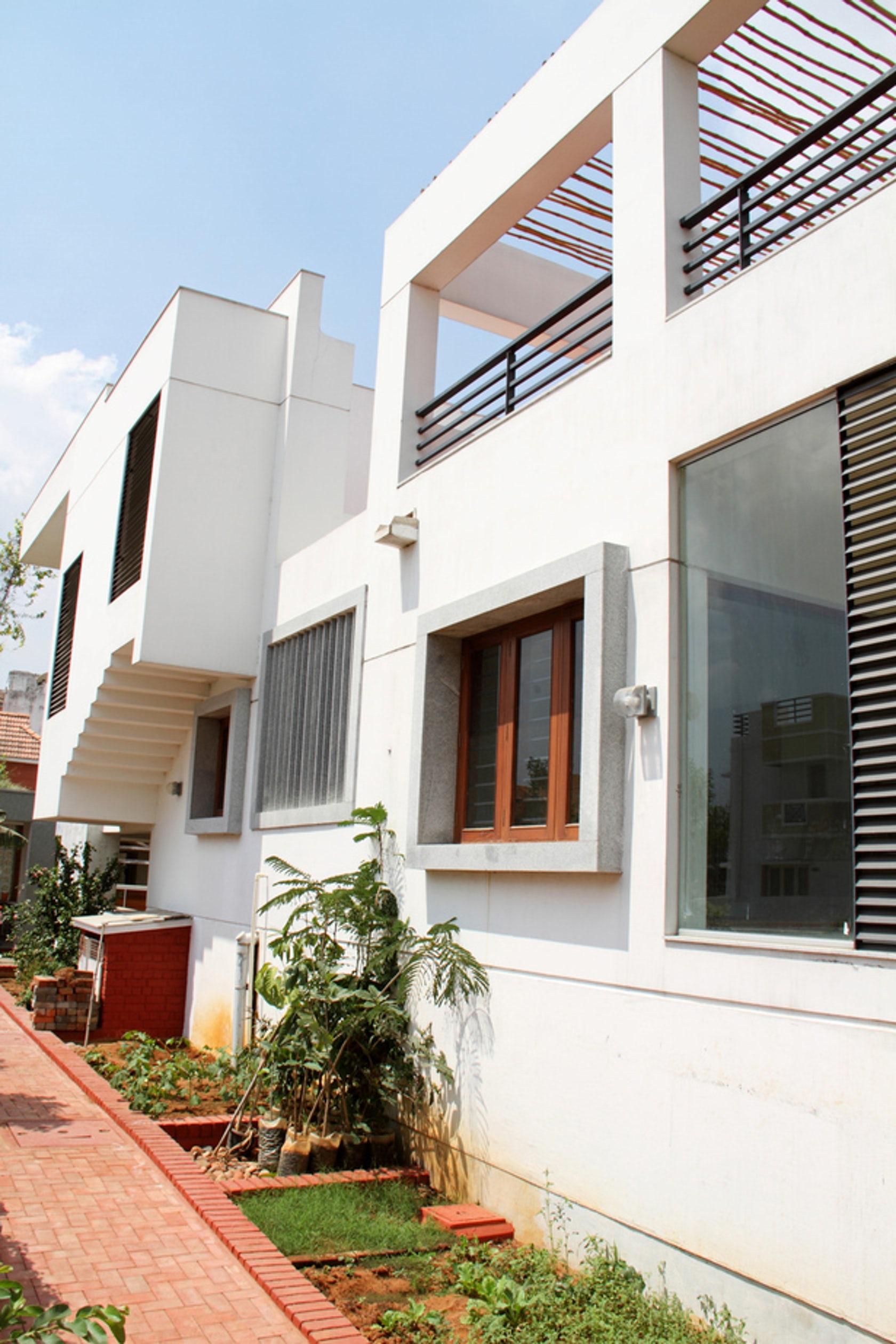 Mrs mr vasuki rajagopalan residence architizer for Tamilnadu house images