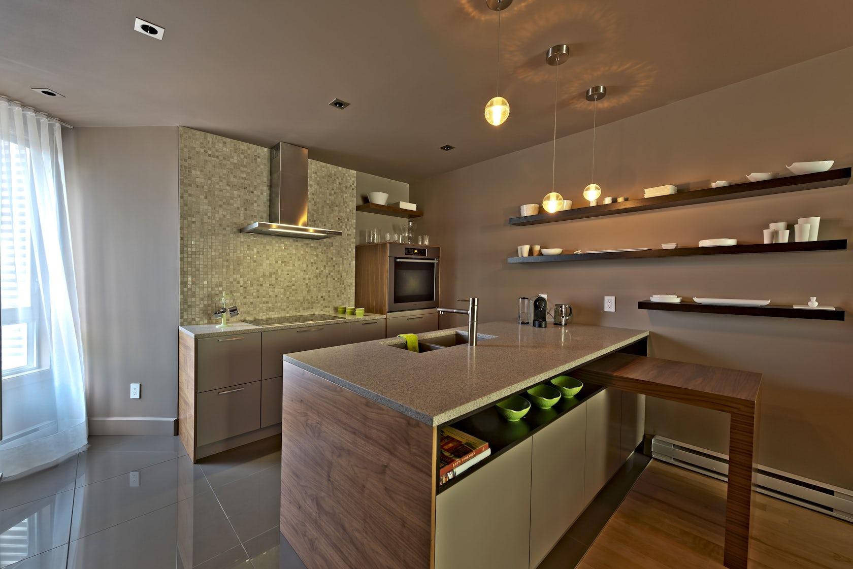 Design condo montreal design condo montreal architizer for Cuisine design montreal