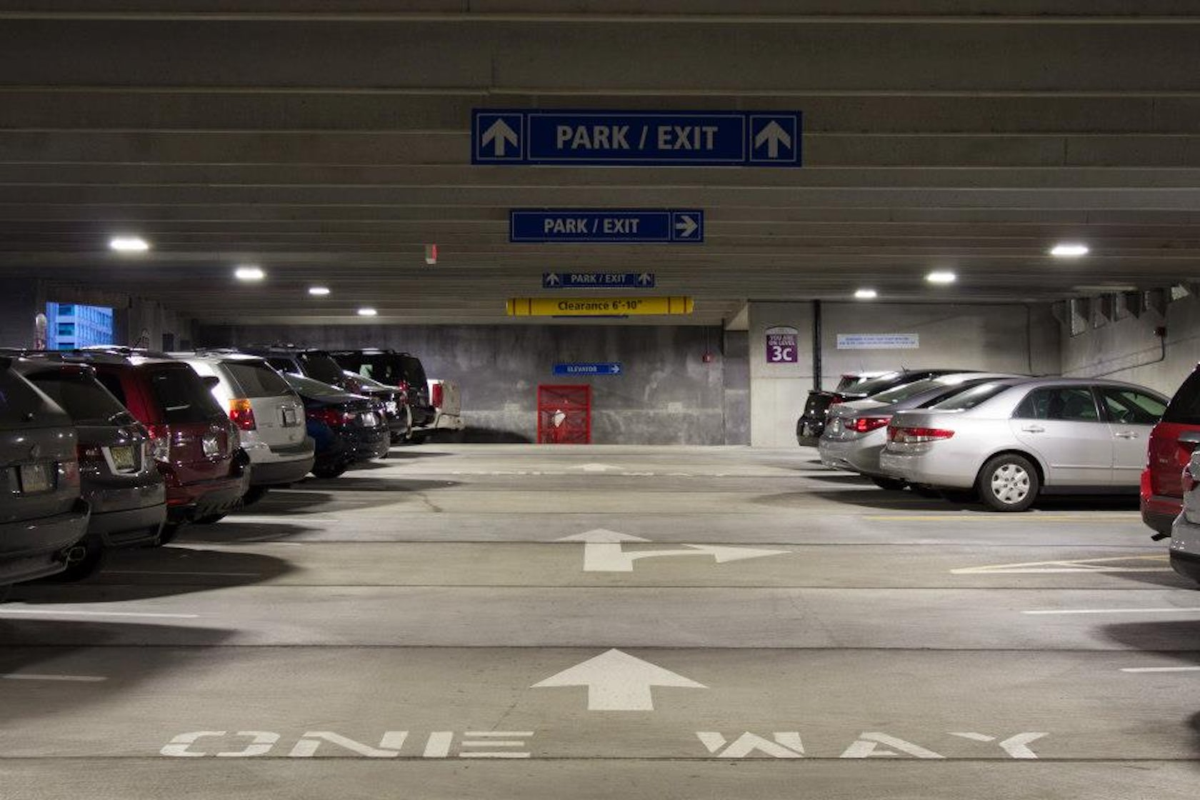 Convention Center Parking Facility Architizer