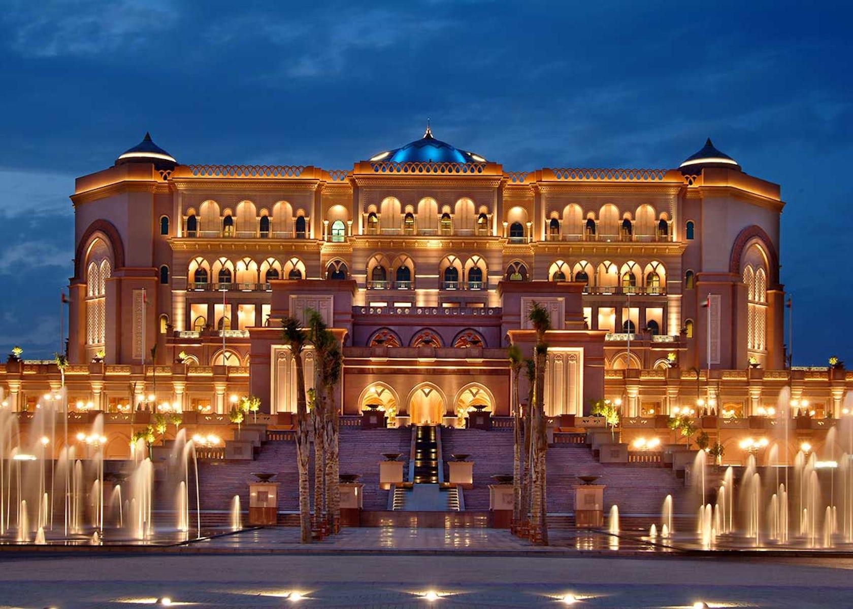 Emirates Palace by WATG and Wimberly Interiors - Architizer