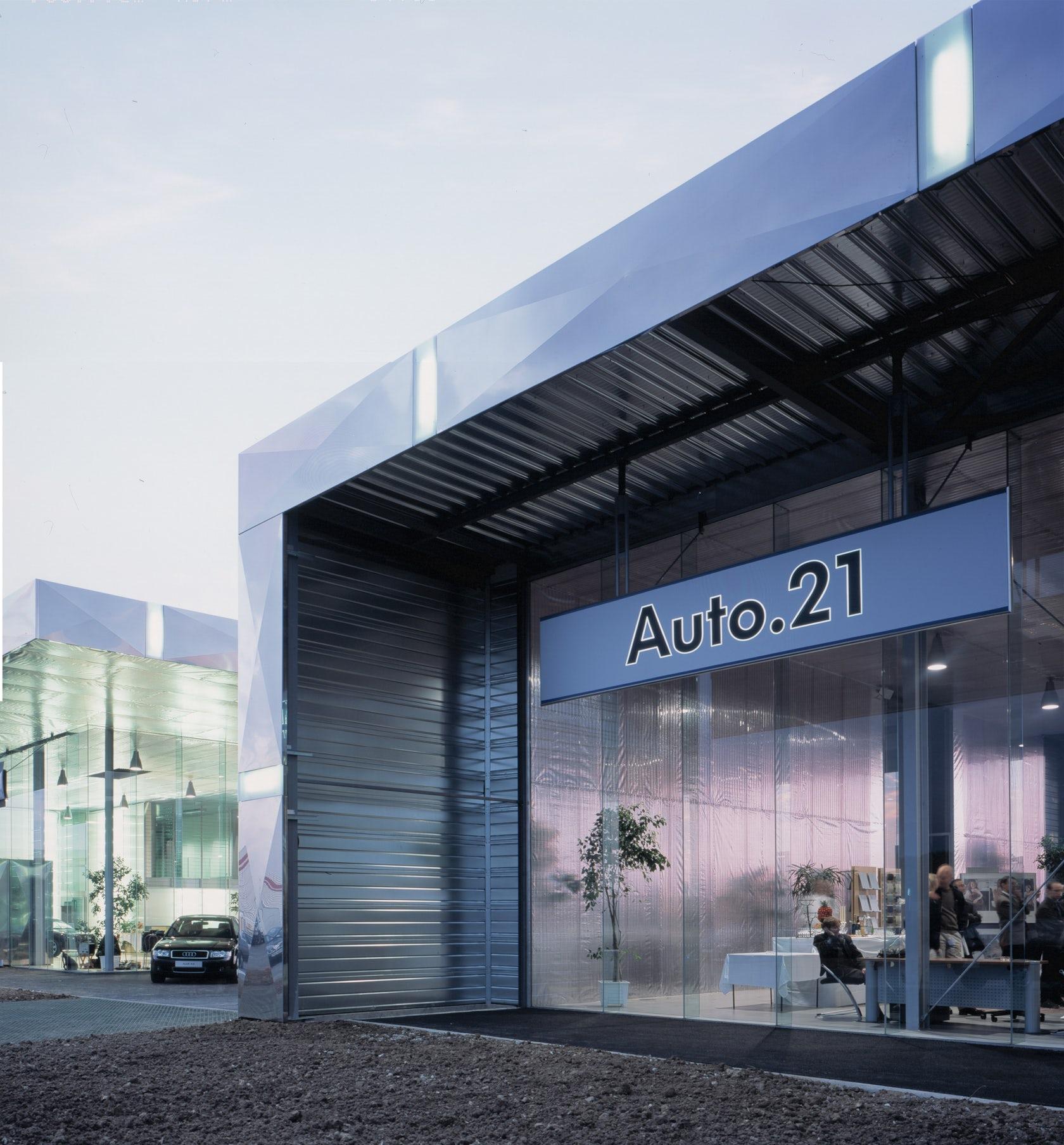 Audi Car Dealer BFT Architectes