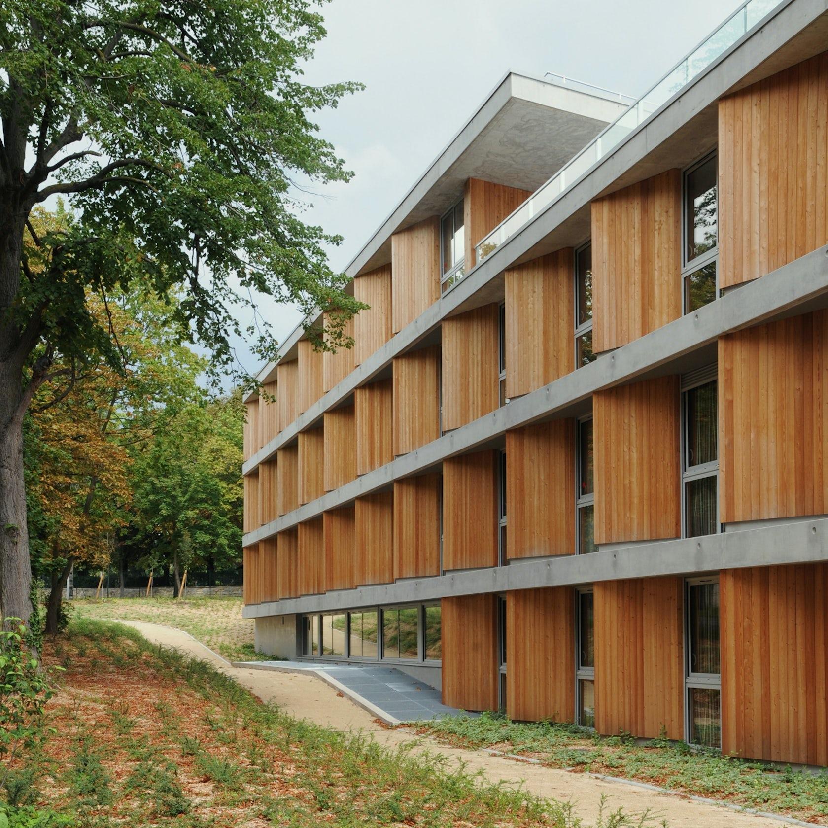 Retirement home maisons laffitte architizer - Architecte maisons laffitte ...