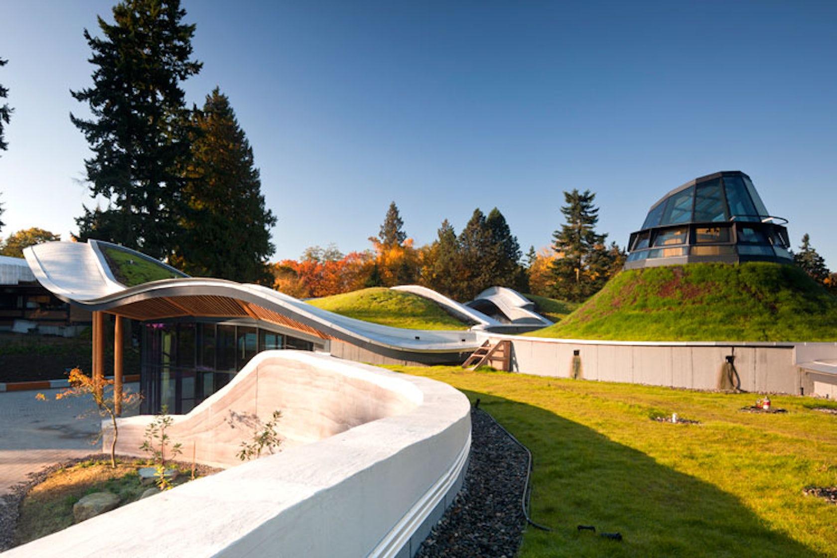 Vandusen Botanical Gardens Visitor Centre Architizer