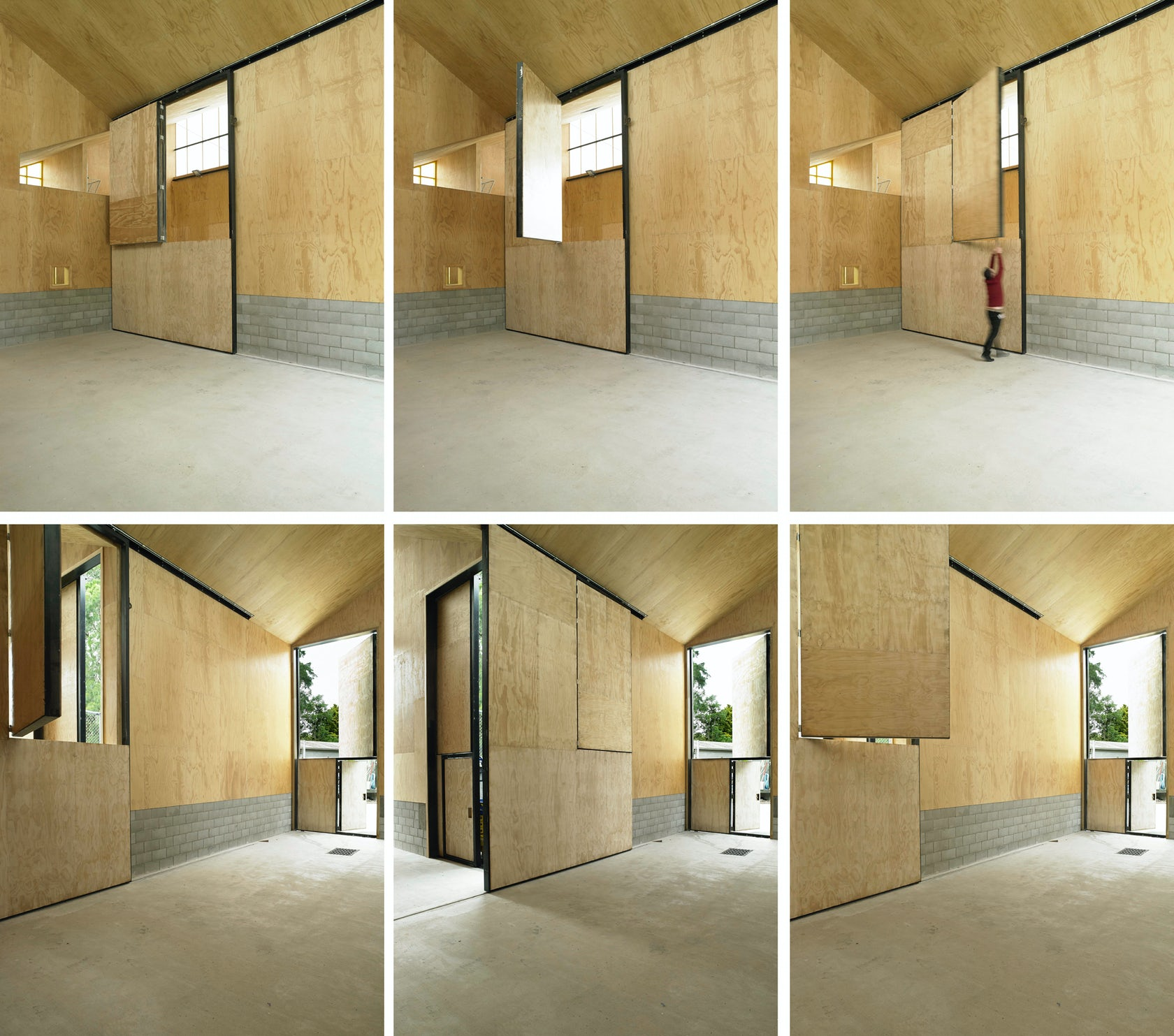 Giraffe house architizer House with movable walls