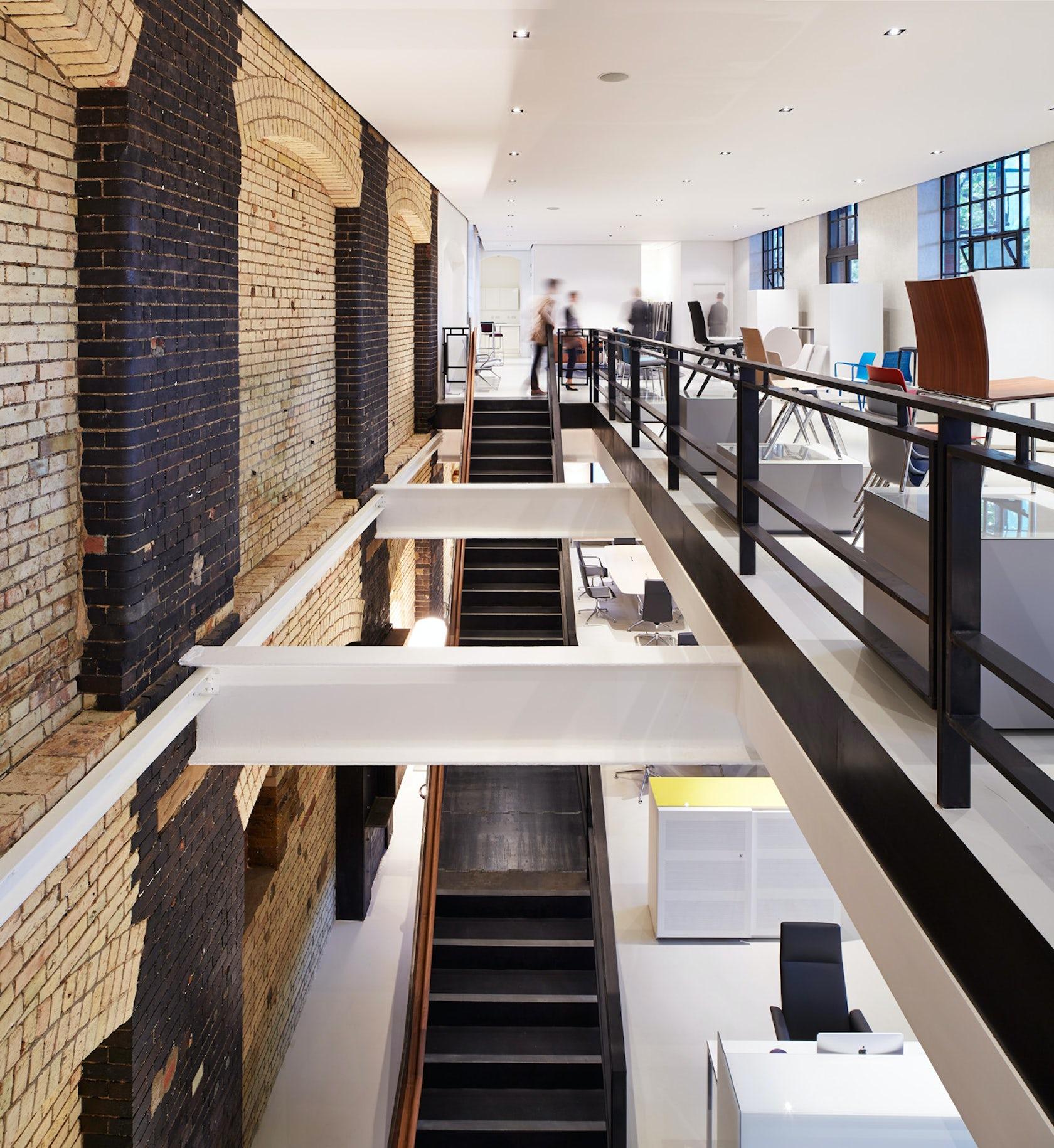 Light Industrial Warehouse For Sale London: Brunner Furniture Showroom