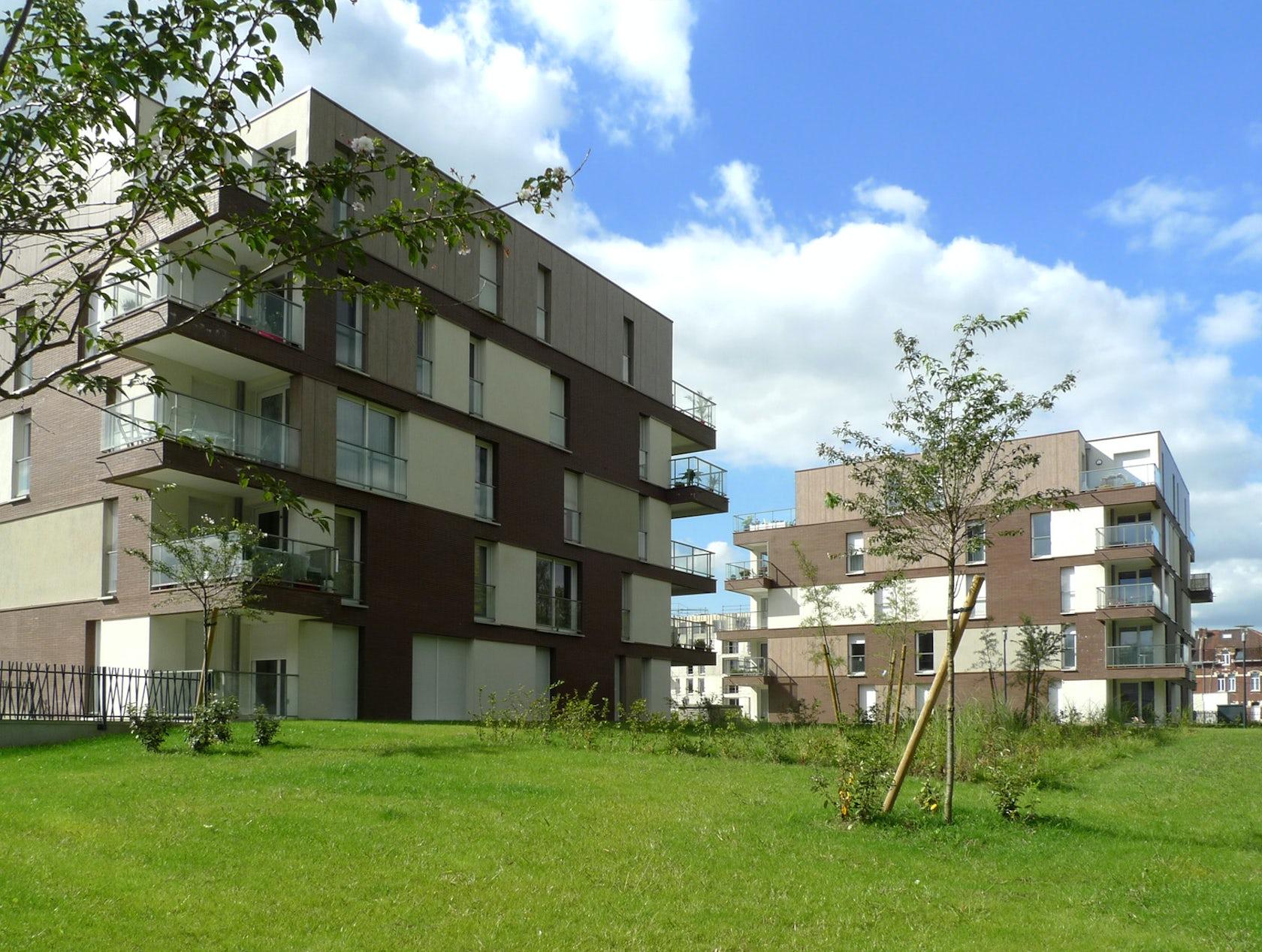 construction de 136 logements collectifs tourcoing architizer. Black Bedroom Furniture Sets. Home Design Ideas