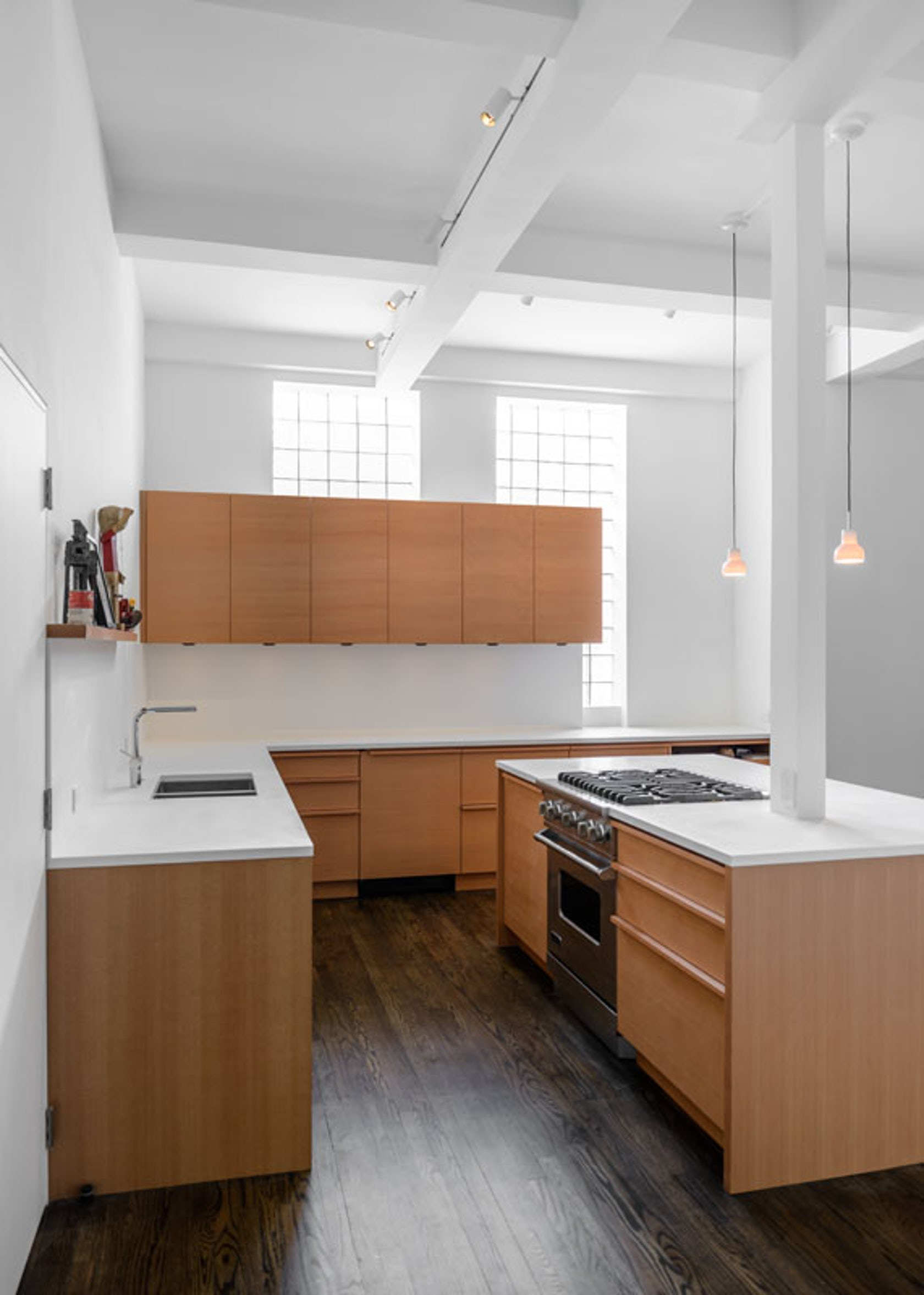 East village apartment architizer Kitchen design for village