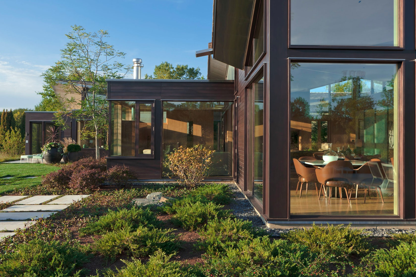 Illinois residence architizer - Residence carmel par dirk denison architects ...