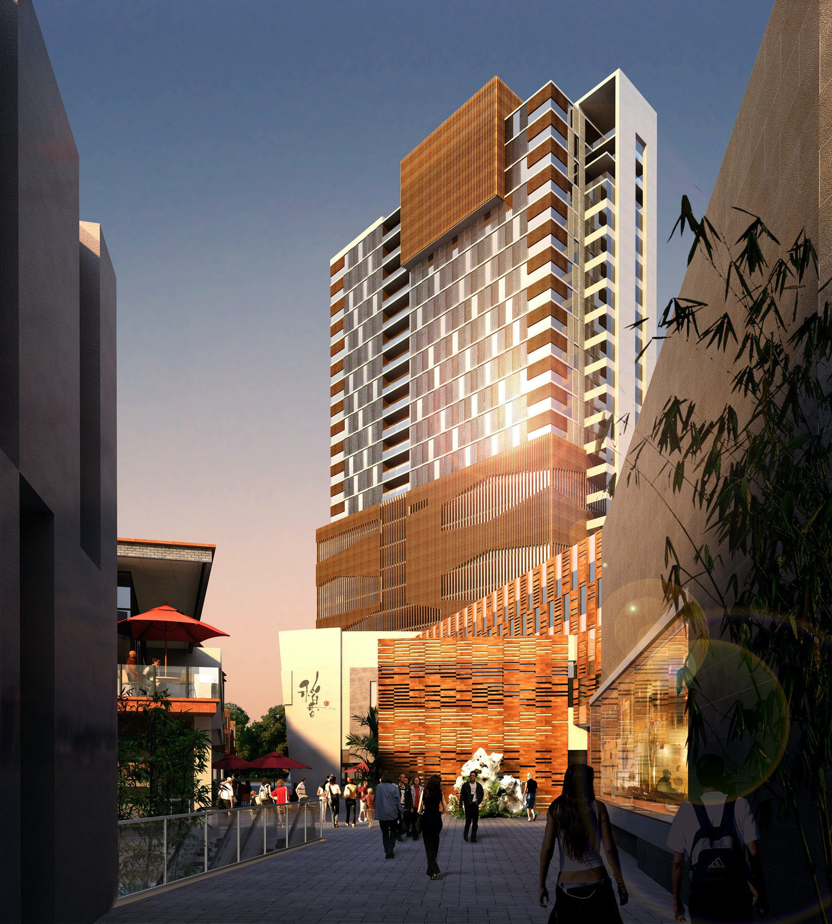 Jiangsu Hotel Residential And Retail Complex