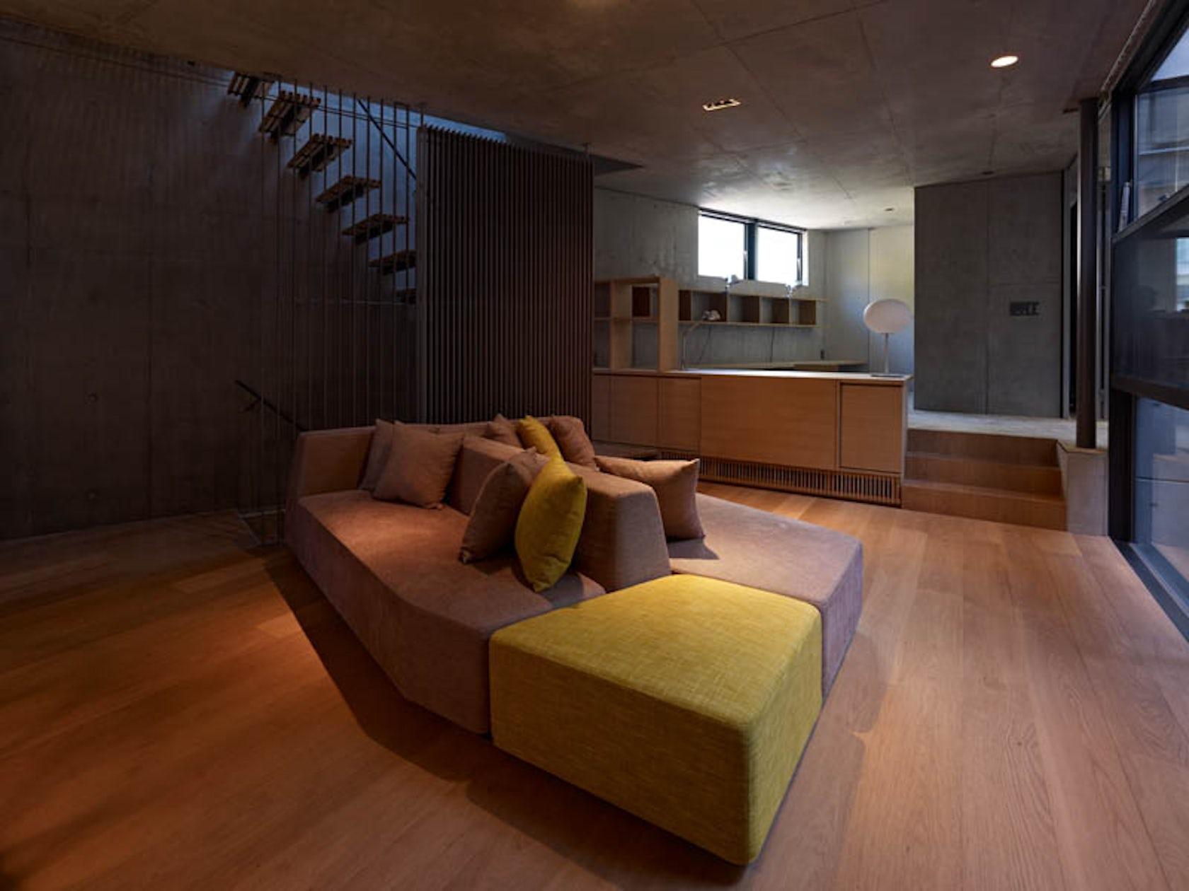 Sky garden house architizer - Residence contemporaine sky garden keiji ashizawa design ...