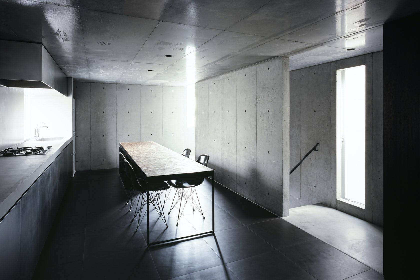 2 courts house architizer - Residence contemporaine sky garden keiji ashizawa design ...