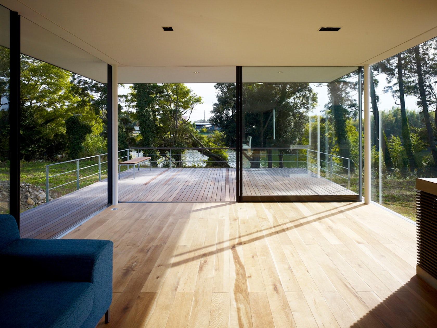 Riverside house architizer - Residence contemporaine sky garden keiji ashizawa design ...