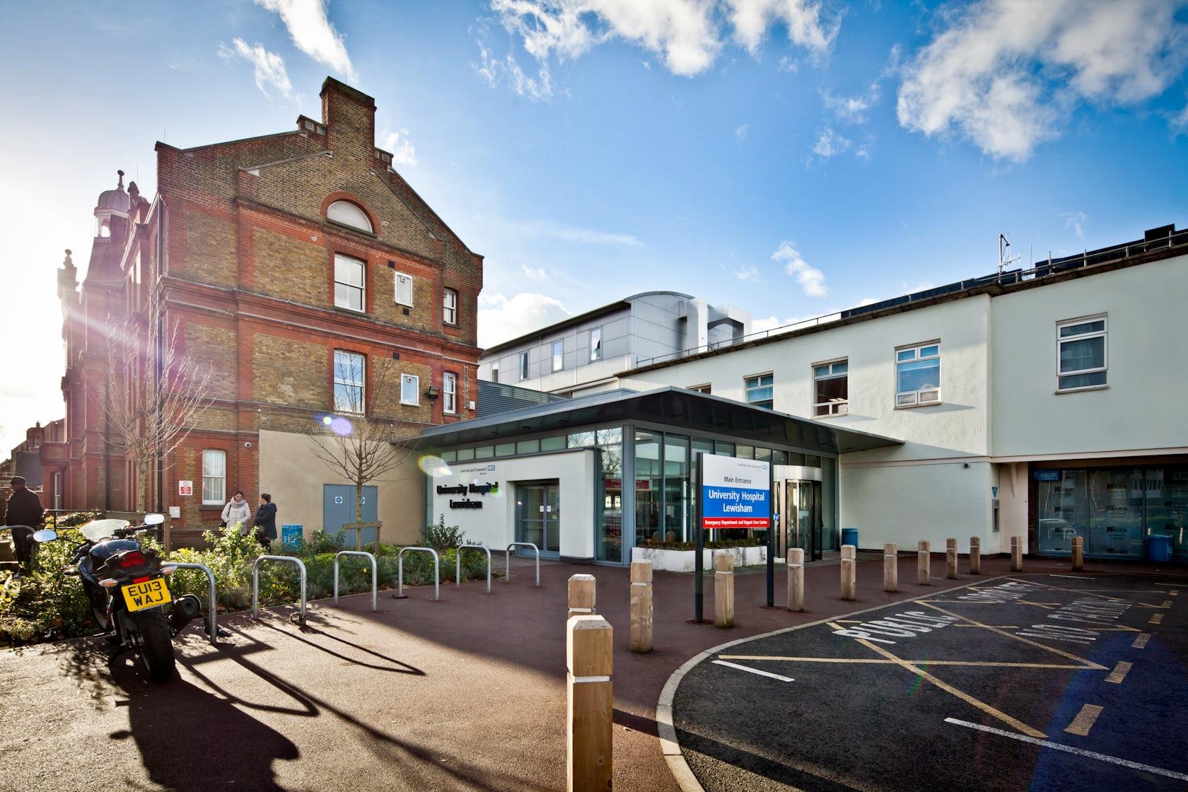 lewisham hospital architizer. Black Bedroom Furniture Sets. Home Design Ideas