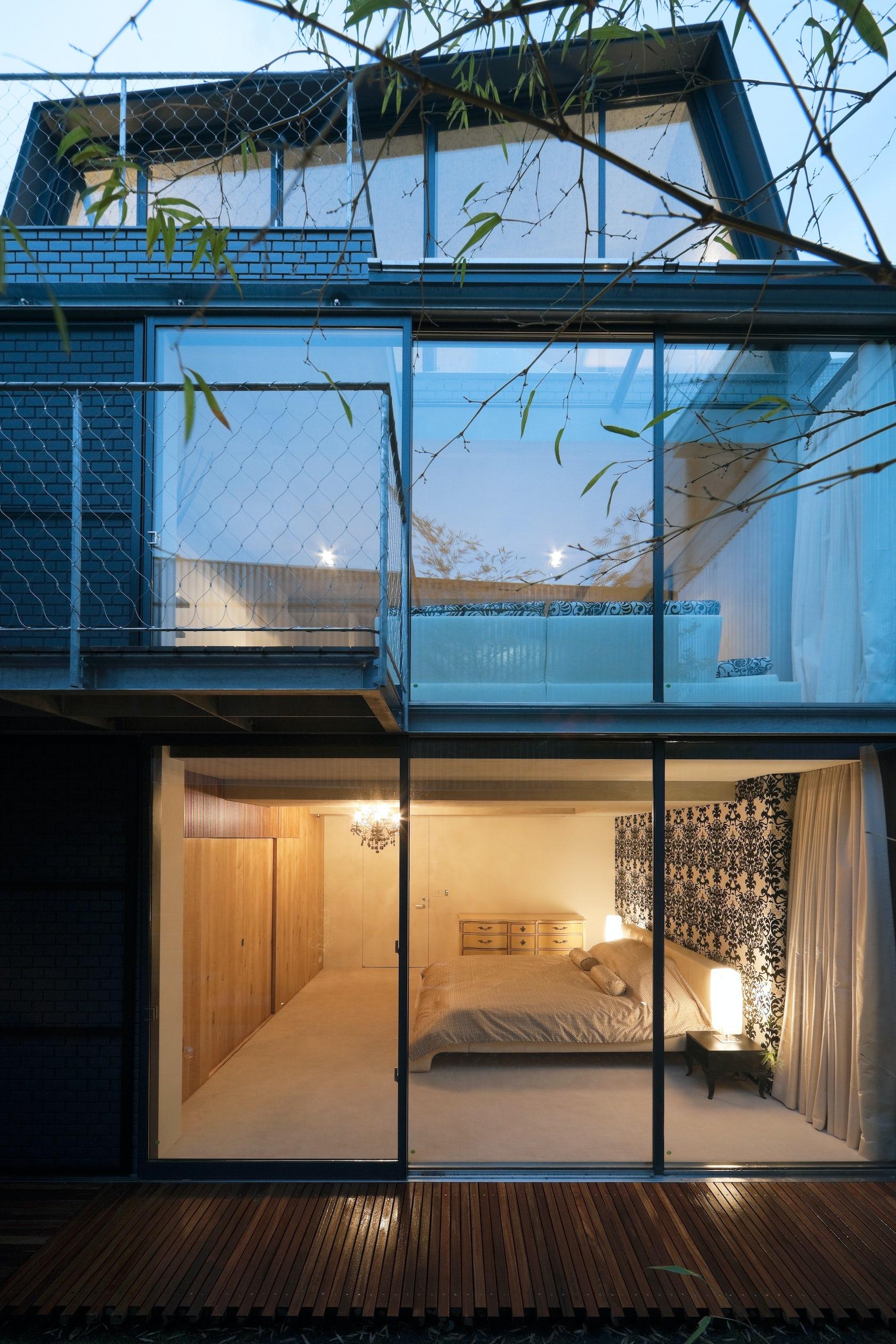 Skycourt house architizer - Residence contemporaine sky garden keiji ashizawa design ...