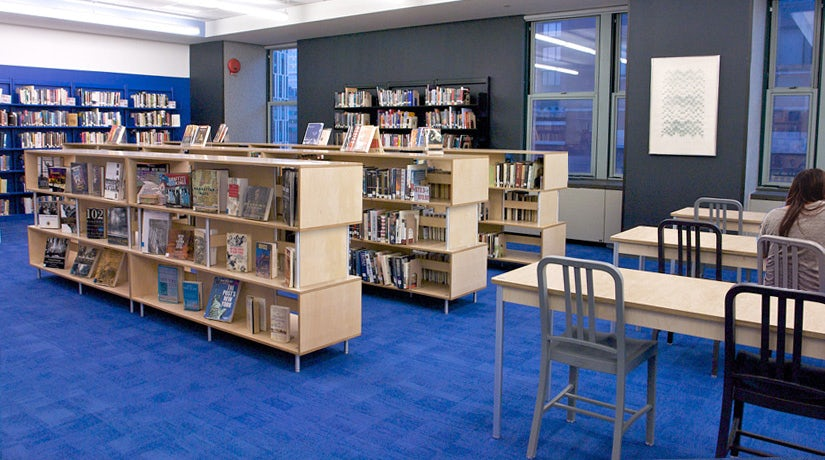 Milder Library Furniture — Modern Durable Made in the