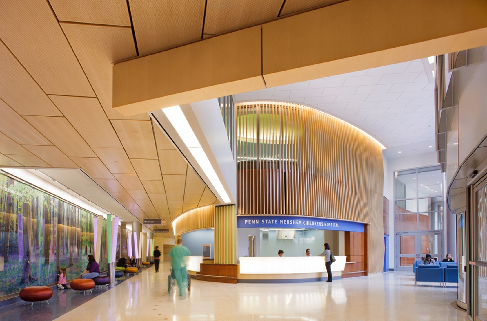 Penn state hershey children 39 s hospital architizer - Interior design jobs washington state ...
