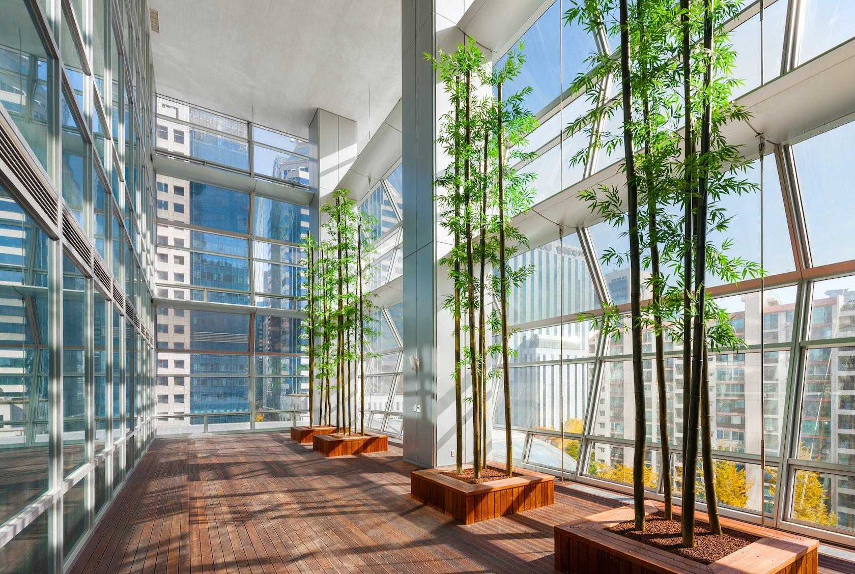 Federation of korean industries architizer for Atrium design and decoration