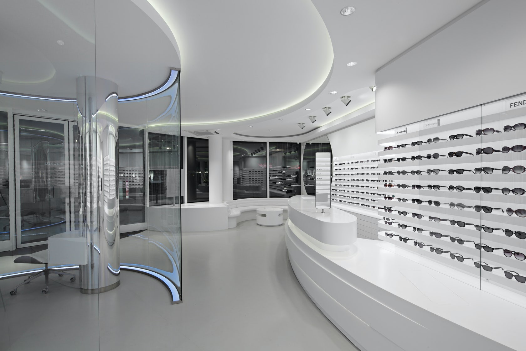zeiss vision store berlin architizer. Black Bedroom Furniture Sets. Home Design Ideas