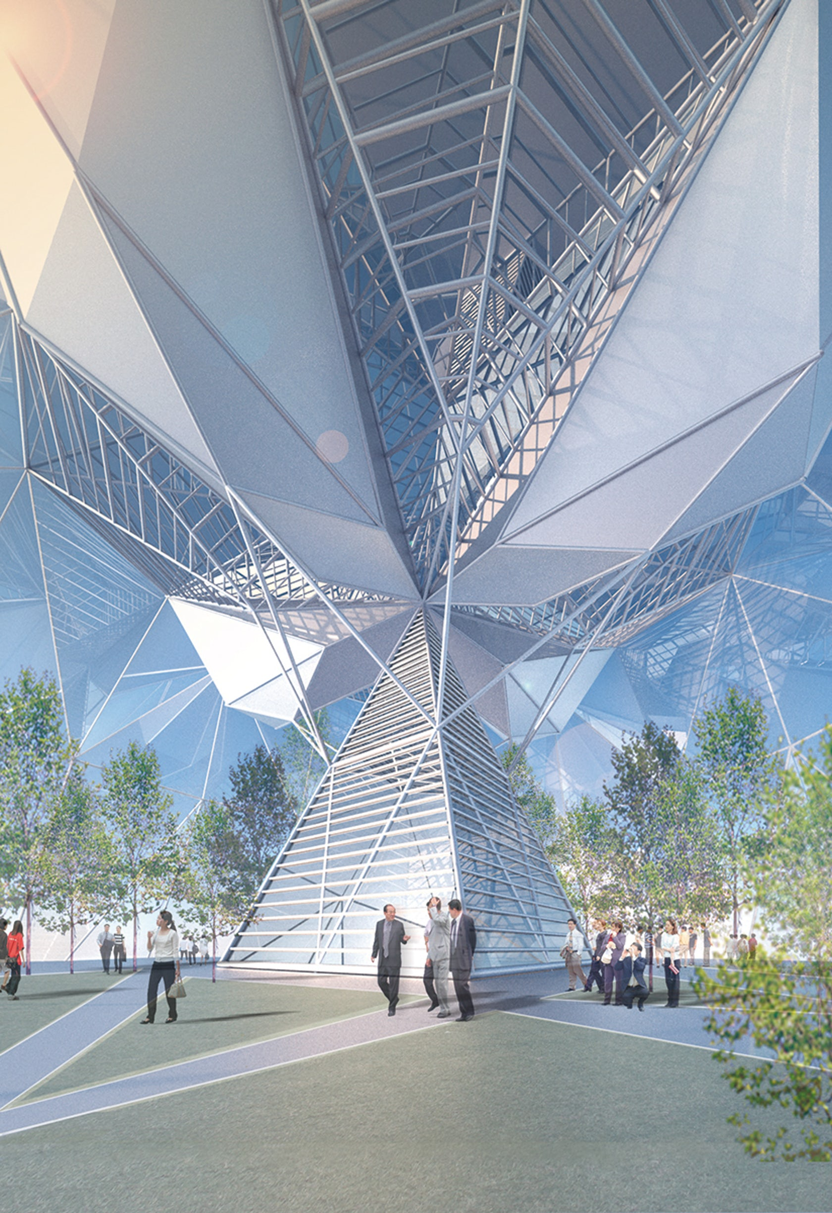 Chengdu greenland tower architizer for Architectural design problems