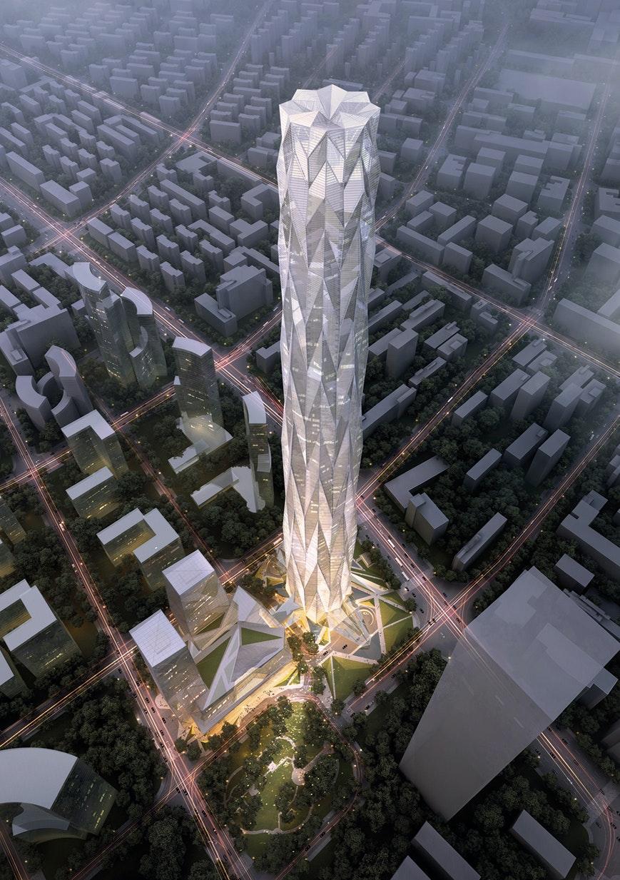 chengdu greenland tower
