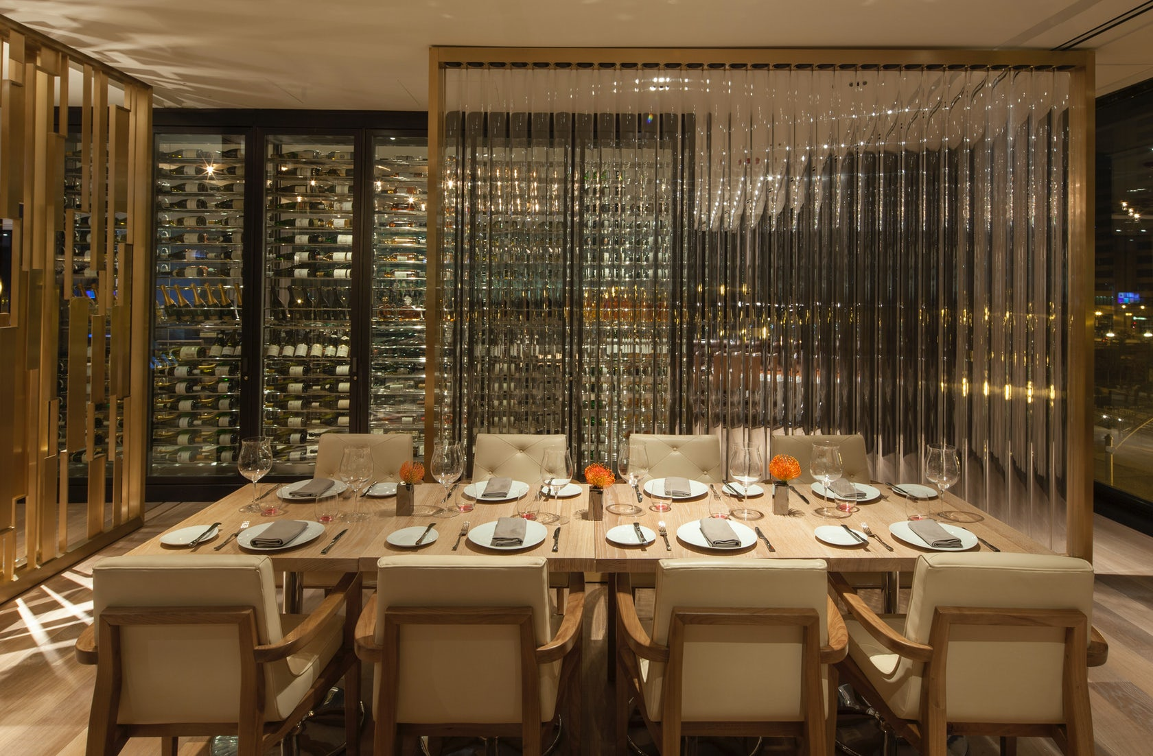 Travelle at the langham chicago architizer - Private dining rooms chicago ...