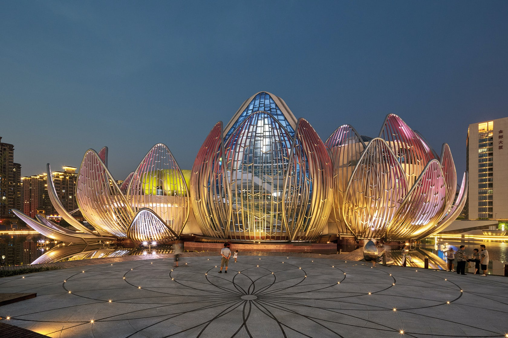 Wujin Lotus Conference Center On Architizer