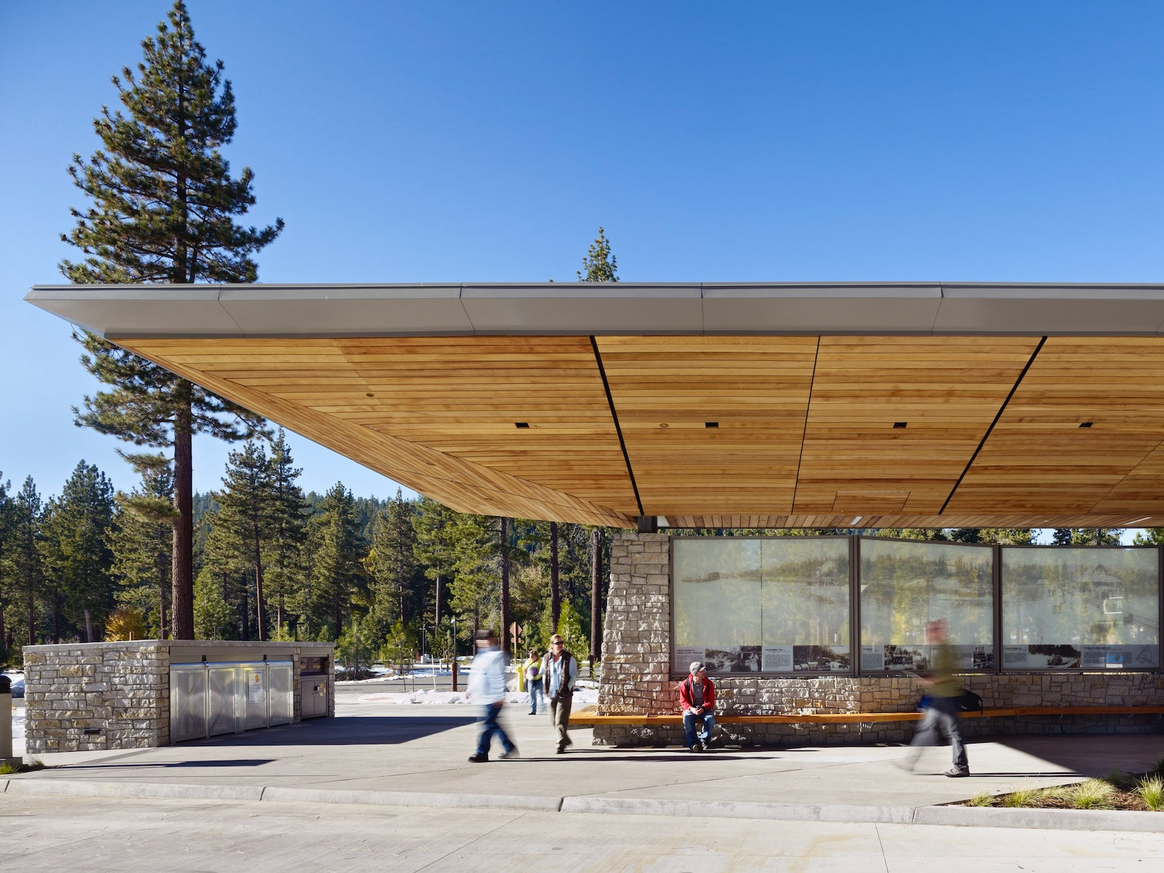 Tahoe city transit center architizer for Lake tahoe architecture firms