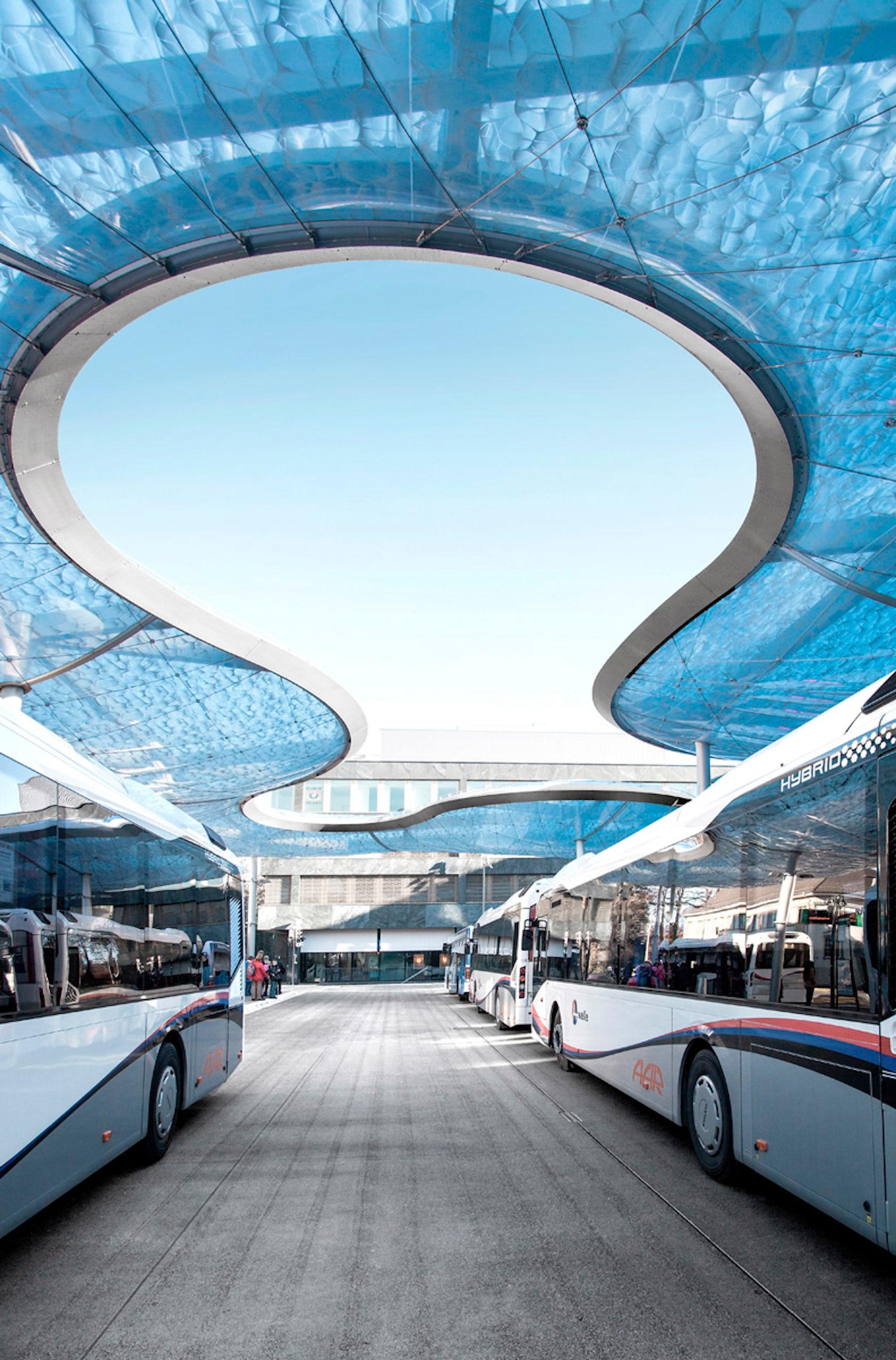 Bus Terminal Aarau Architizer
