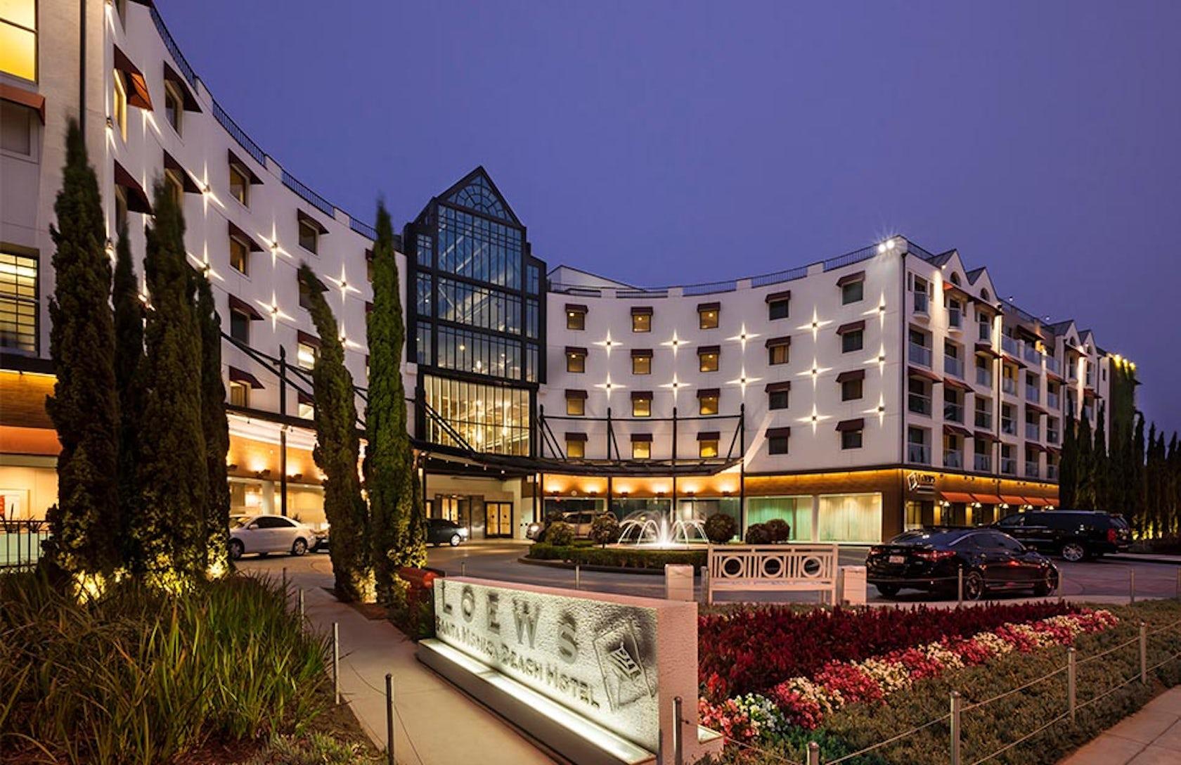 Loews Santa Monica Beach Hotel Architizer