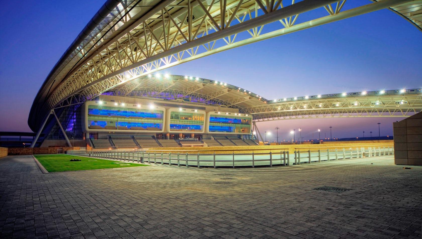 Al Shaqab Equestrian Performance Arena Architizer