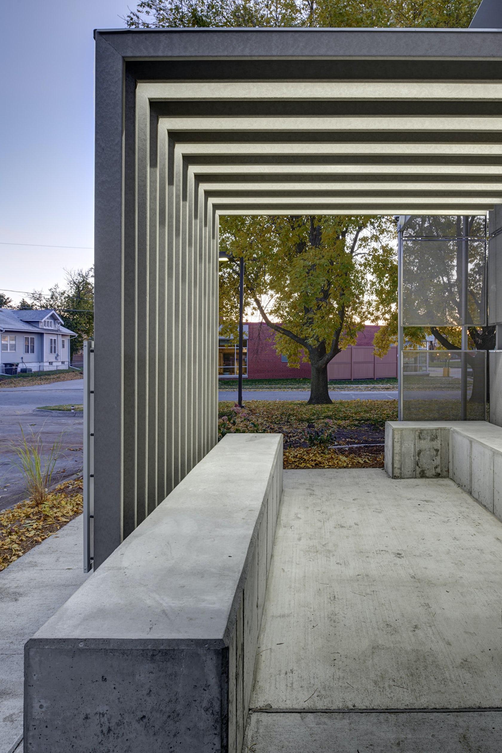 corinthian gardens shelter architizer. Black Bedroom Furniture Sets. Home Design Ideas
