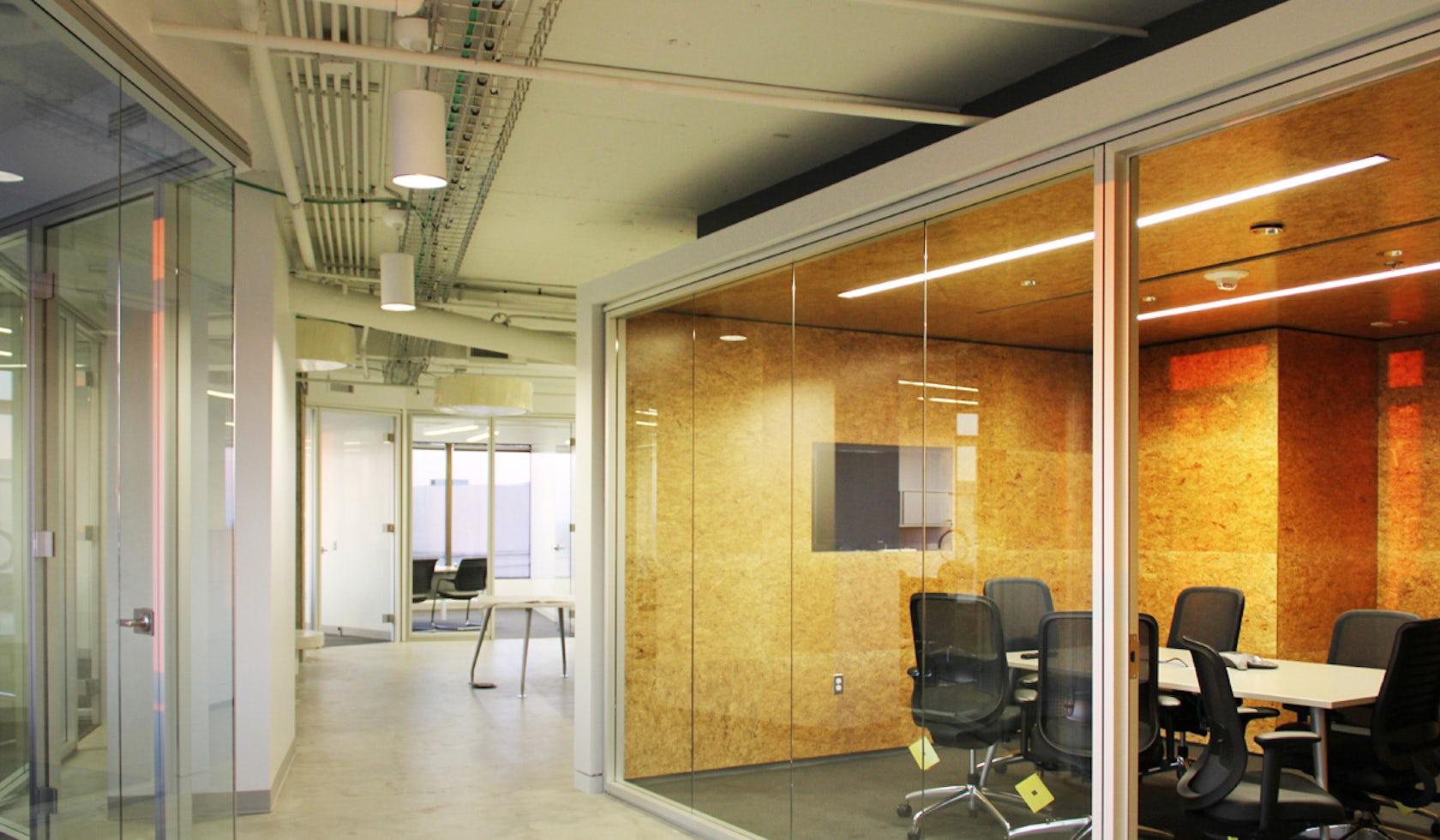 tech company interior architizer. Black Bedroom Furniture Sets. Home Design Ideas