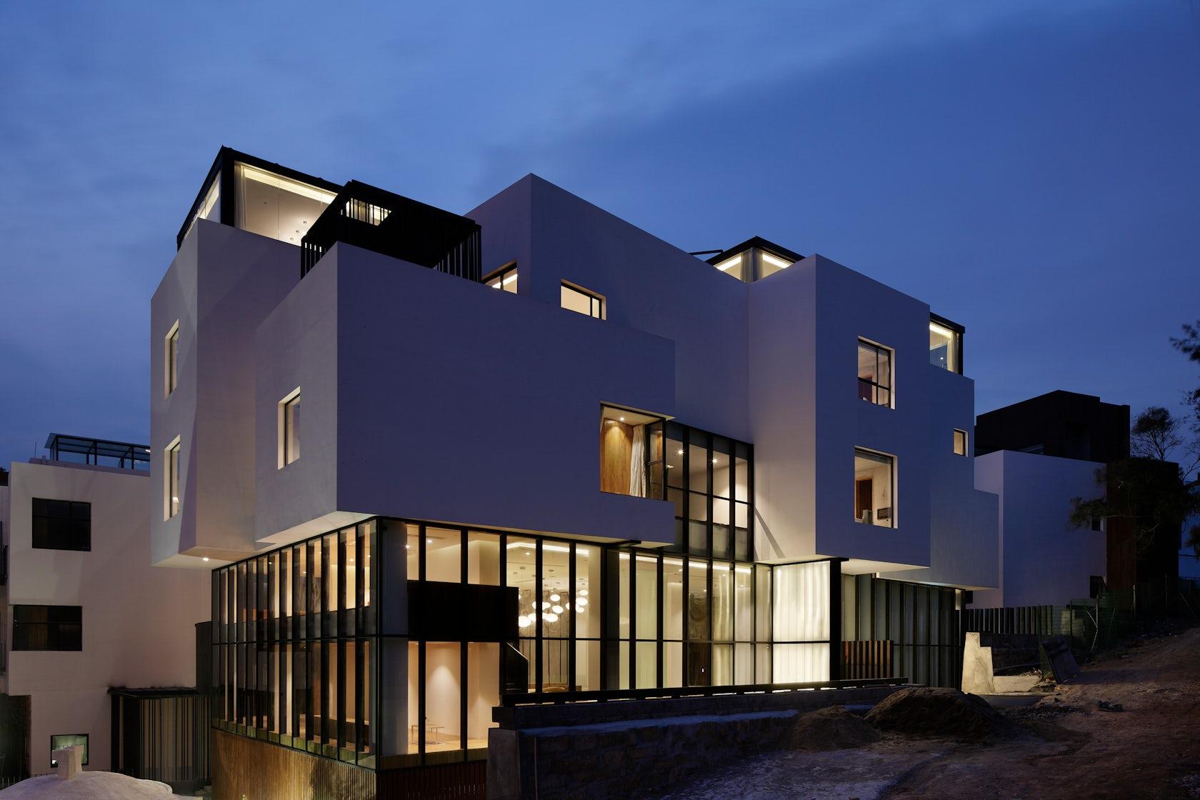 Hotel wind architizer for Architecture japonaise