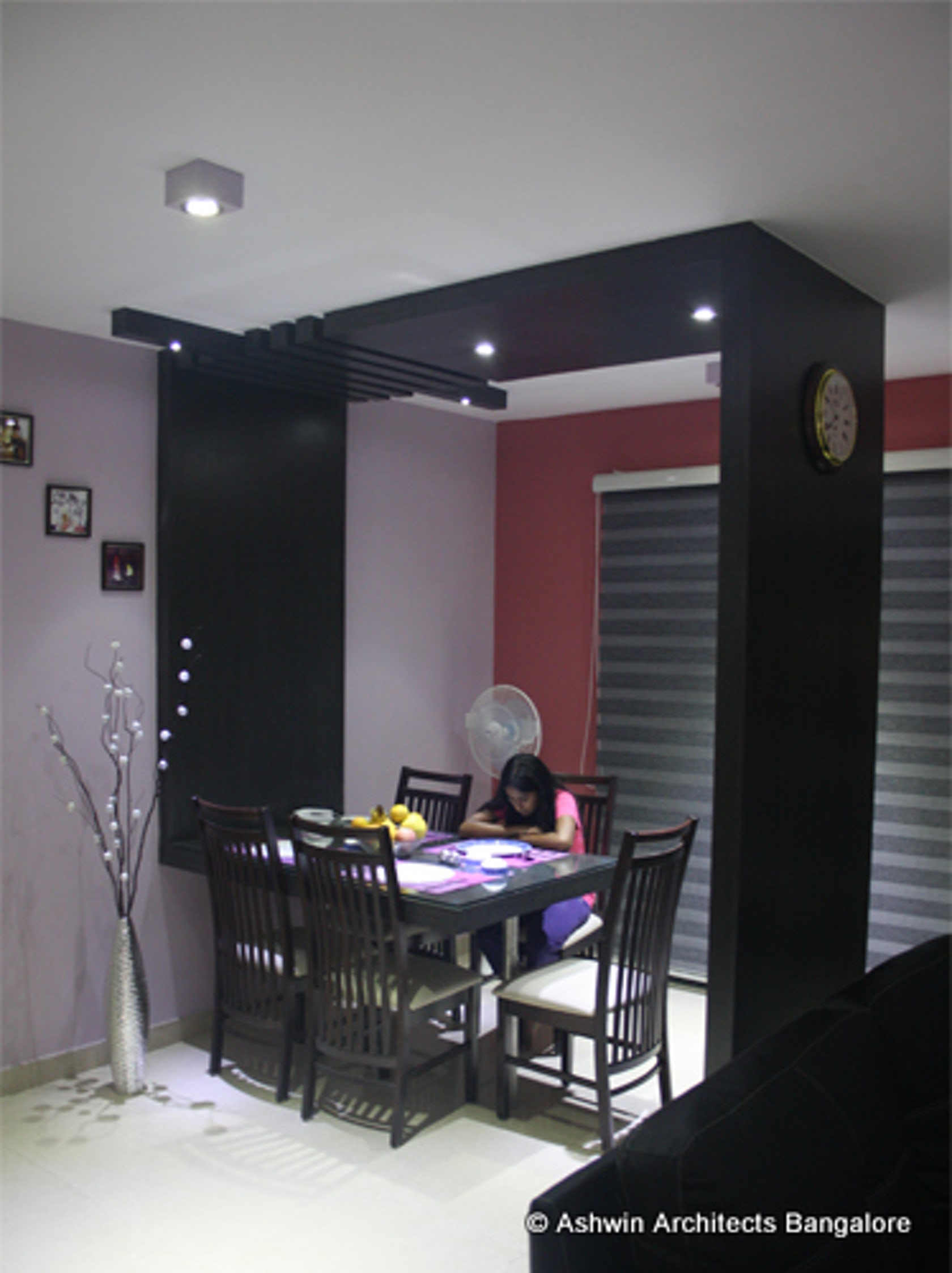 3bhk apartment interior designs bangalore sandhya s home for Indian duplex house interior design
