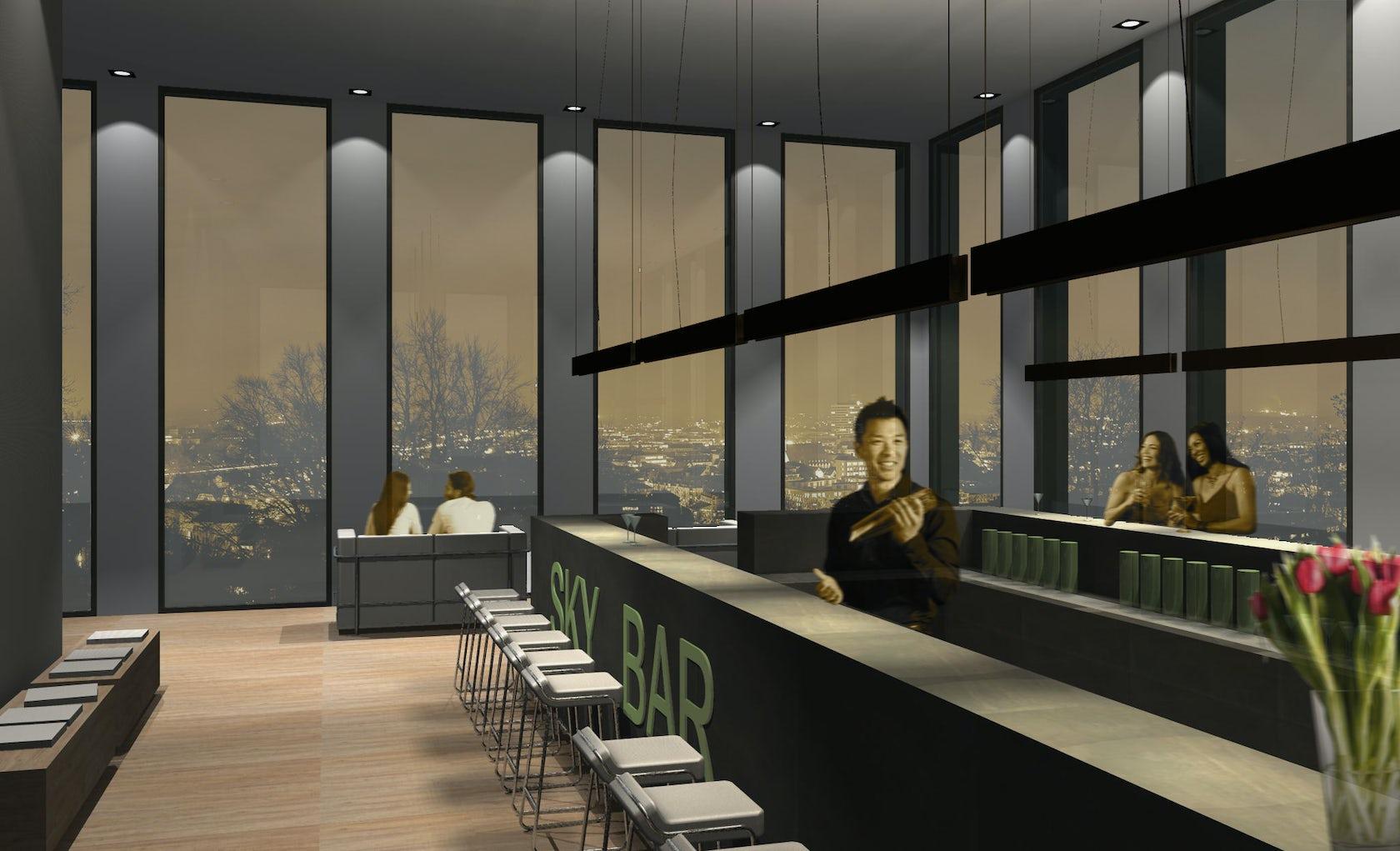 Hotel bielefeld architizer for Interior design bielefeld