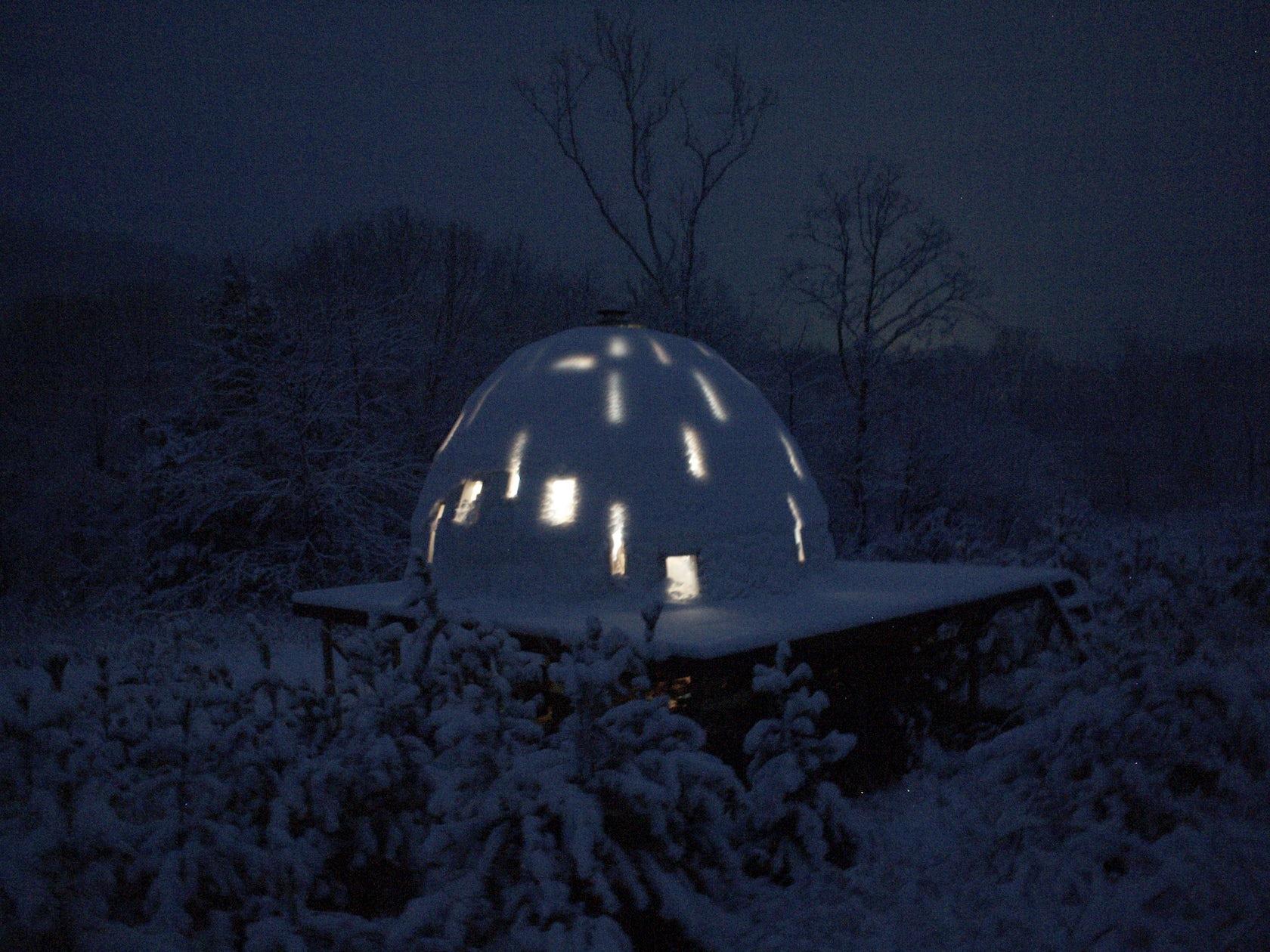 Foam Dome Home Architizer