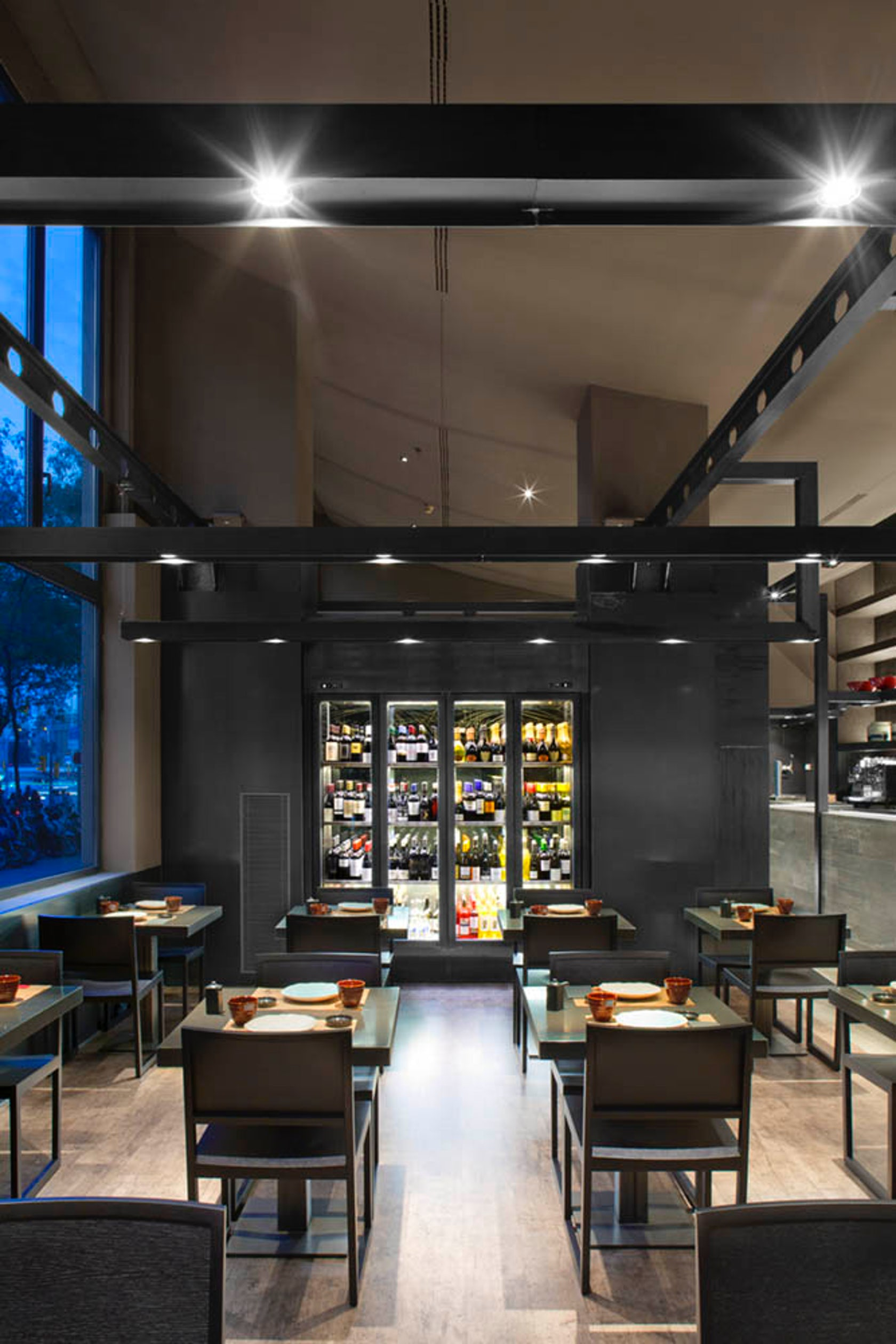 Umo restaurant architizer - Restaurante umo barcelona ...