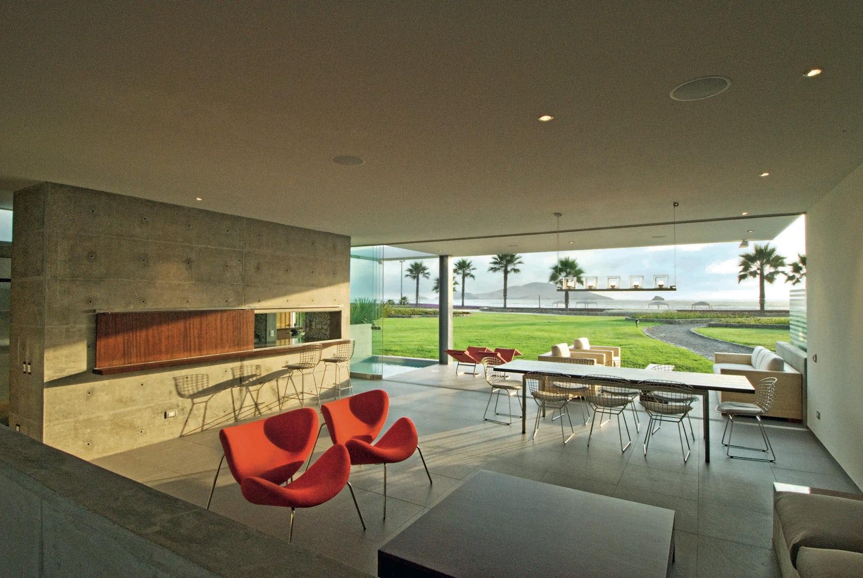 La isla beach house architizer for La isla interior torrent